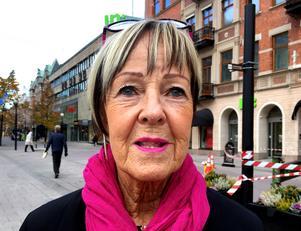 Eva Viklund, 68 år, extraanställd i butik, Allsta