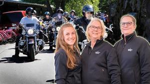 I år är det reportrarna Emelie Stenqvist, Grethel Hjuberger och Sara Borg som kommer bevaka Custom Bike Show.