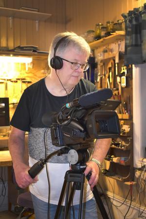 Dokumentärfilmaren Ingemar Sevemyr.