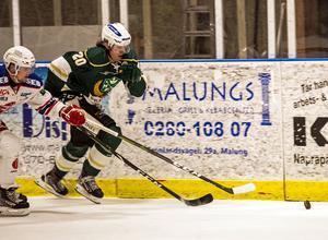 Felix Dynell tillhörde den första kull av elever som började på Malung-Sälens nystartade ishockeygymnasium 2015. Nu spelar 20-åringen för A-laget i Hockeyettan.