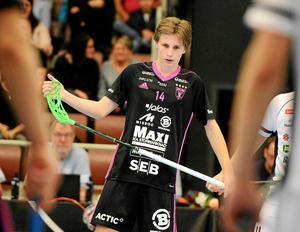 Malte Lundmark är en av tre spelare från dalaklubbar som har kallats till U19-landslagslägret.