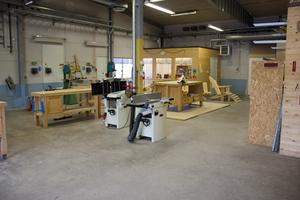 Snart står snickeriet tomt, en arbetsplats som sysselsatt arbetslösa i Sandviken.