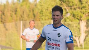 Oscar Nordlund gjorde IFK Timrås mål mot Piteå. Det räckte dock inte och laget förlorade med 1–2.