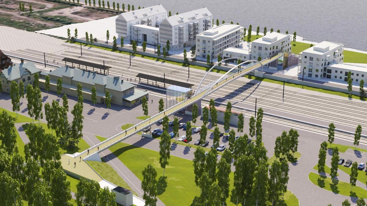 INSÄNDARE: Platta till nybyggandet på Storsjö Strand