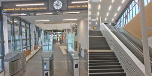 Den nya stationen i Vega är på väg att bli klar och öppnar den 1 april. Foto: Stockholms läns landsting