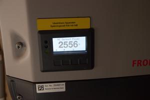 Vid elvatiden är effekten uppe i över 2 500 watt.