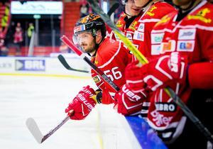 Johan Wiklander har gjort sitt som hockeyspelare i Örebro. På måndagen meddelade klubben att det inte blir någon fortsättning. Bild: Johan Bernström/Bildbyrån
