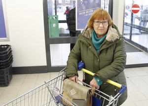 Pirjo Norström är inte säker på om hon kommer att köpa någon ekologisk julmat.