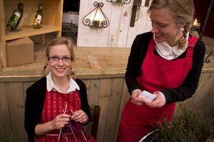 Flitiga händer har systrarna Moa och Sara Sjödin.