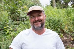 Anders Lindberg, eldsjäl och styrelsemedlem i Tärna Bygdegårdsförening.