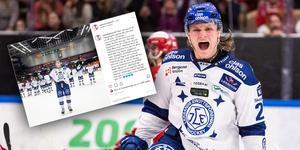 Anton Karlsson lämnar Leksand. Bild: Bildbyrån