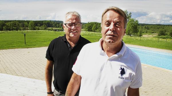 Lennart Skansfors och Christer Filipsson startade nytt parti i Norberg.
