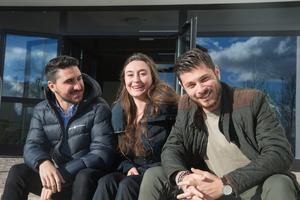 Hussam Rauf, Natalina Jaconelli och George Kasabian. Saknas på bild gör Patricia Said och Dany Kako.
