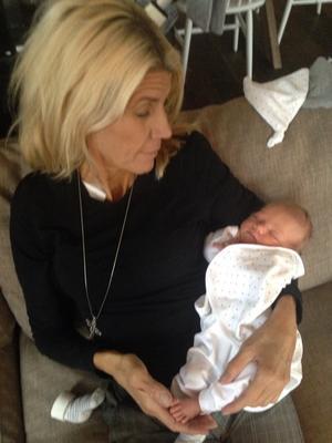 2013 När Ulrica fick sitt första barnbarn vägde cirka 50 kilo och var väldigt sjuk.