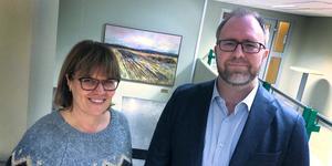 Vansbros kommunchef Catarina Willman har nu kunnat välkomna Erik Mååg till ekonomichefsposten.