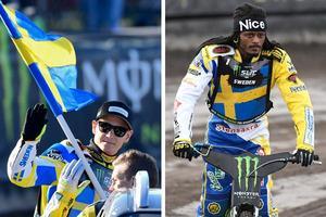 Fredrik Lindgren och Antonio Lindbäck körde Sverige till final. Foto: Mikael Fritzon/TT