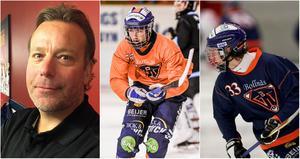 Svenne Olsson är glad över den utveckling han ser hos Oskar Westh och Filip Flodstam.