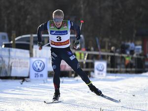 Jens Burman fick dela på segern tillsammans med Karl–Johan Westberg, Borås. Foto: Ulf Palm/TT