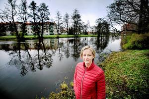 - Några månader hit eller dit gör ju inte så stor skillnad, säger Hanna Dufva, chef för tekniska förvaltningen, om nya vattentornets försening.Arkivfoto