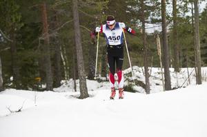 Martin Hammarberg stannade till i Sundsvall på väg upp till Umeå, där han ska hjälpa till med banläggningen under JVM och världscupen i skidorientering.