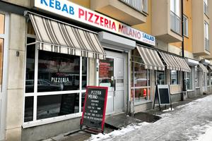 Pizzeria Milano ligger på Hyttgatan.