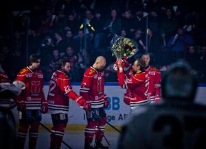 Tidigare i år gjorde Marcus Weinstock sin 500:e match i Örebrotröjan. Nu är frågan hur många fler det blir. Bild: Johan Bernström/Bildbyrån