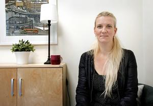 Projektledaren Marika Olsson.