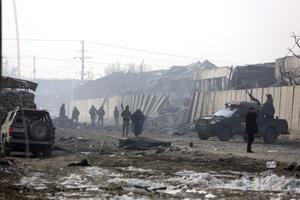Vilket vore bäst? Att gömma sig i Sverige  i Afghanistan?Signaturen undrar.  Foto:  Rahmat Gul