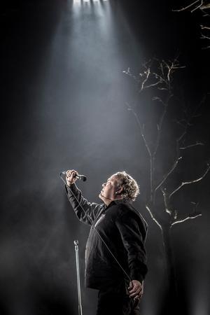 Leif Andrée uppmuntrades att skapa en monolog av sin livsberättelse. Bild: Petra Hellberg