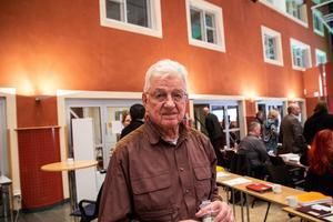 Stig Zettlin (SVG) ordförande Sjukvårdspartiet  Gävleborg.