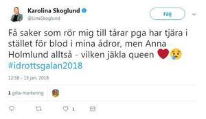 Från Twitter.