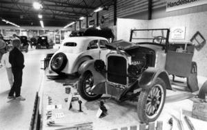 Jemtlands veteranbilklubb arrangerade också en utställning 1987.  Bland annat kunde man där beskåda en Rugby modell R från 1926.