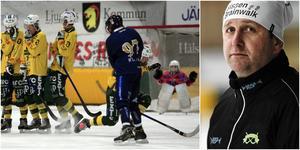 Patrik Larsson var tillbaka som coach när Ljusdal mötte Peace & Love City i lördagens premiär.