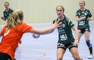 Maja Axell var tillsammans med Caroline Strandell målbäst i  Alfta.