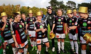 Lidköpings FK, nykomling i Elitettan. Foto: Sören Turesson/NLT