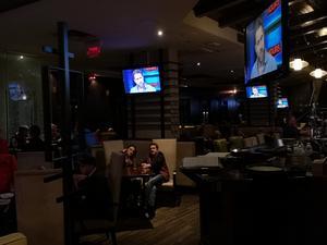 Intervjun sändes på flera pubar runt om i Vancouver.