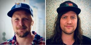 Linus Niklasson och Oskar Sohlgren från Svärdsjö-Envikens S-förening.