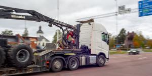 Färre lastbilar genom Sveg räknar Trafikverket med när nya sträckningen av E45 står klar.