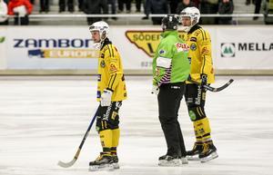 Vadim Arkhipkin och Robin Redin var tillbaka i Broberg.