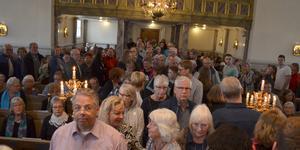 Ludvika Ulrika kyrka var full av besökare på 1 maj.