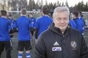 Fagerstas tränare Nicklas Blomqvist.
