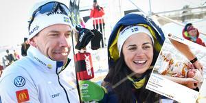 Emil och Anna Jönsson Haag har blivit föräldrar.