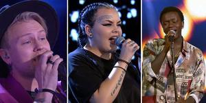 Alla tre finalisterna från länet kan se fram emot minst en vecka till i Idol. Freddie Liljegren, Astrid Risberg och Tusse Chiza sjöng