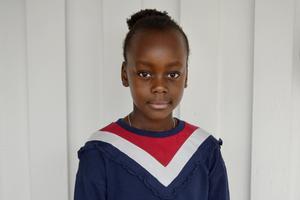 Annie, 8, lågstadieelev, Sundsvall