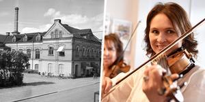 Det var en livlig återinvigning av denna fastighet. Foto: Sam Lawson/Mora Bygdearkiv och Stefan Rämgård