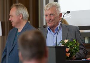 Olle Persson (KD) har tackats av för sina 20 år i Söderhamns fullmäktige.