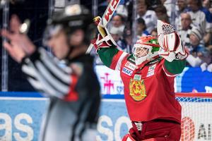 Christian Engstrand tränar också med laget. Men är inte aktuell för spel. Foto: Daniel Eriksson/Bildbyrån.