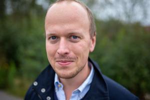 Jonas Stenström utsågs till vinnare av Fotomaraton i Borlänge. Foto: Bengt Pettersson