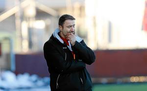 Syrianskas tränare Eddie Demir.