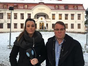 Roxanne Nilsson och Torbjörn Ingvarsson.